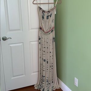 Gypsy 05 strapless maxi. Tags attached.